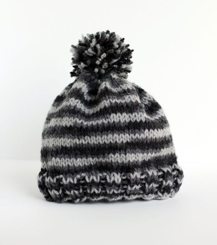 Easy Knitting Projects For Beginners Uk : Diy simple knit hat knitted crochet and