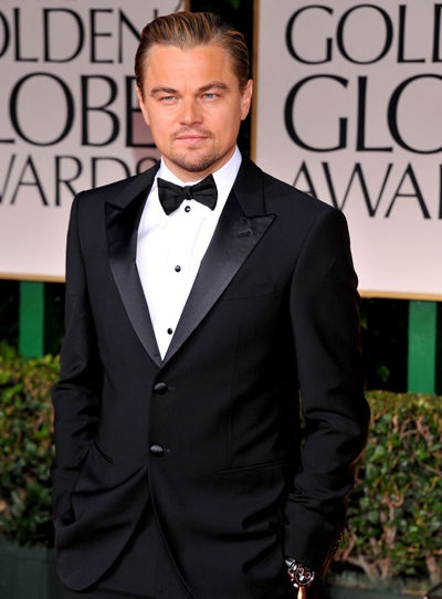 Leonardo DiCaprio 2013 Golden Globes...one of the rare guys that gets better looking with age :)