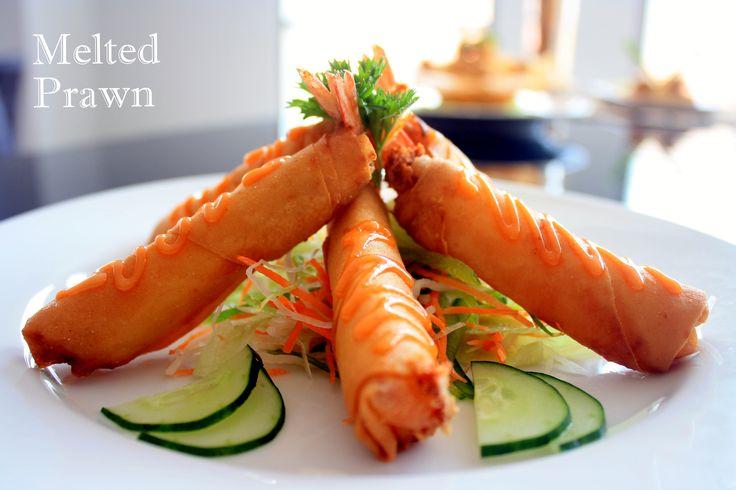 Best Prawn Dish in Surabaya The Melted Prawn only @Crown Prince Hotel Surabaya - Avallon Restaurant Basuki Rahmat 123 - 127 East Java Surabaya - Indonesia Ph.+62 31 54 500 90 F.+62 31 54 500 89