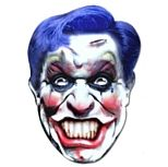 Scary Clown Card Mask Halloween Costume http://www.partypacks.co.uk/scary-clown-card-mask-pid82592.html