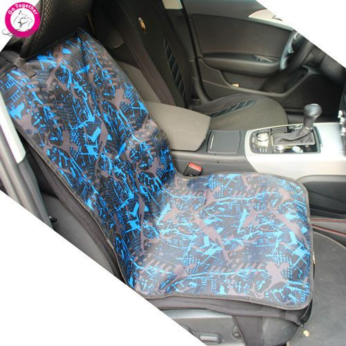 Waterproof Oxford Dog Car Seat Cover Fashion Print Dog Cat Mat Cushion Car Protector Carrier