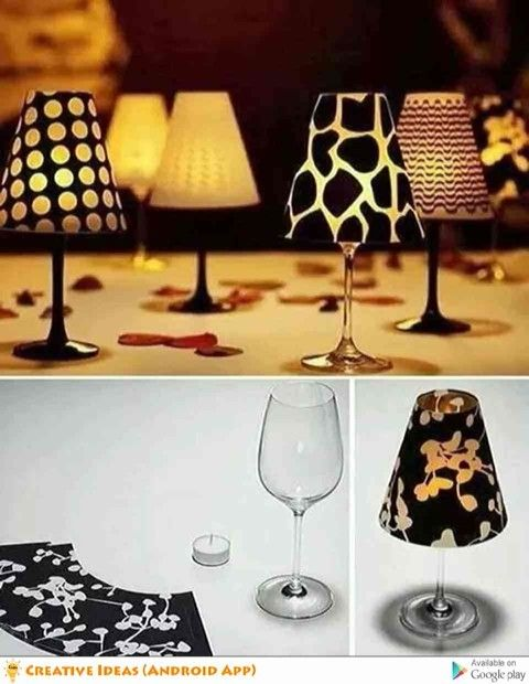 Creative in lamps