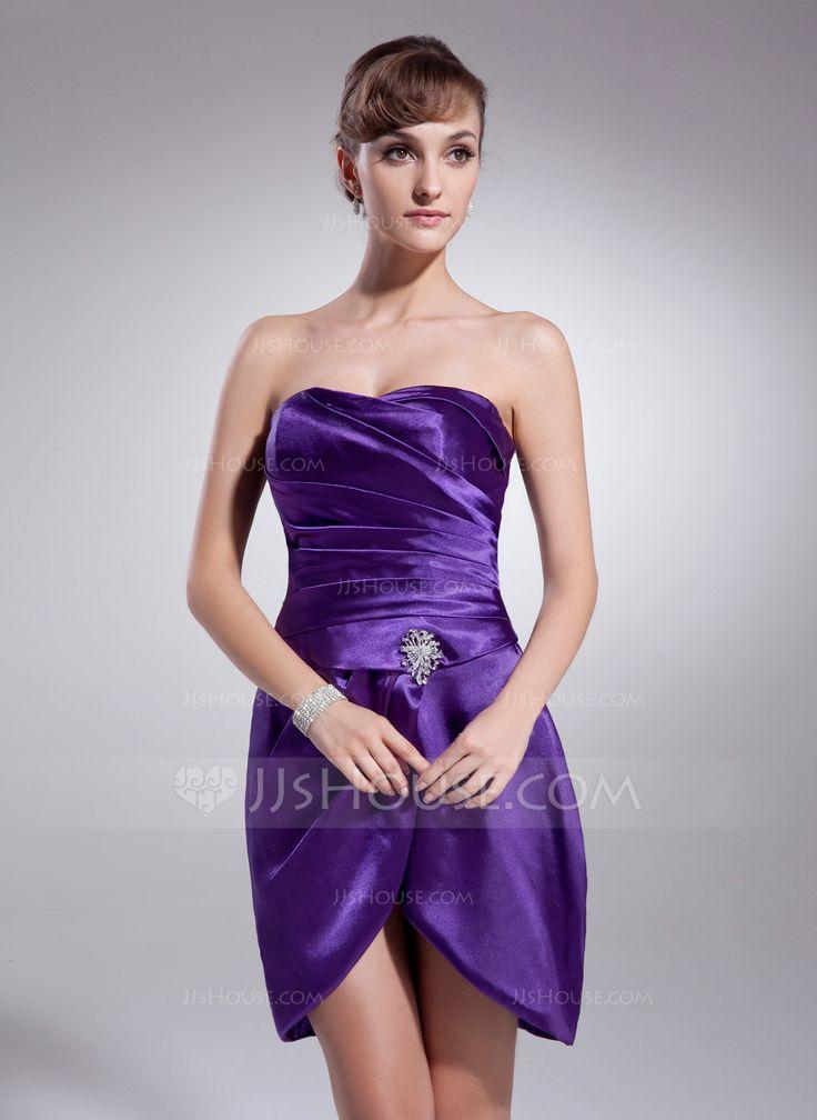 Mejores 446 imágenes de Robes de Cocktail (Cocktail Dresses) en ...