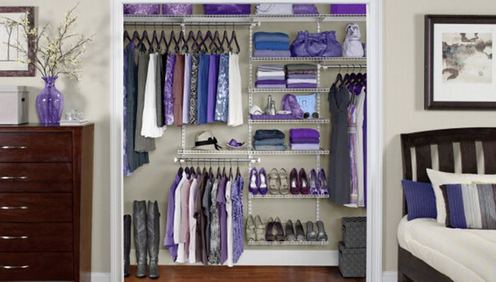 9 Storage Ideas For Small Closets Lowe S How To Library Small