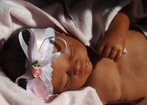 Beautiful Maori Biracial Black Reborn Baby Girl Doll ~ Give a Unique Heirloom Gift, by Joann Clarke