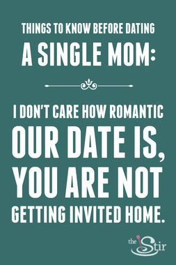 Dating relationship with single parent