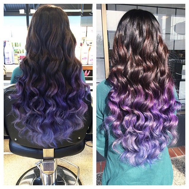 long-brown-curls-ombre-brown-to-purple