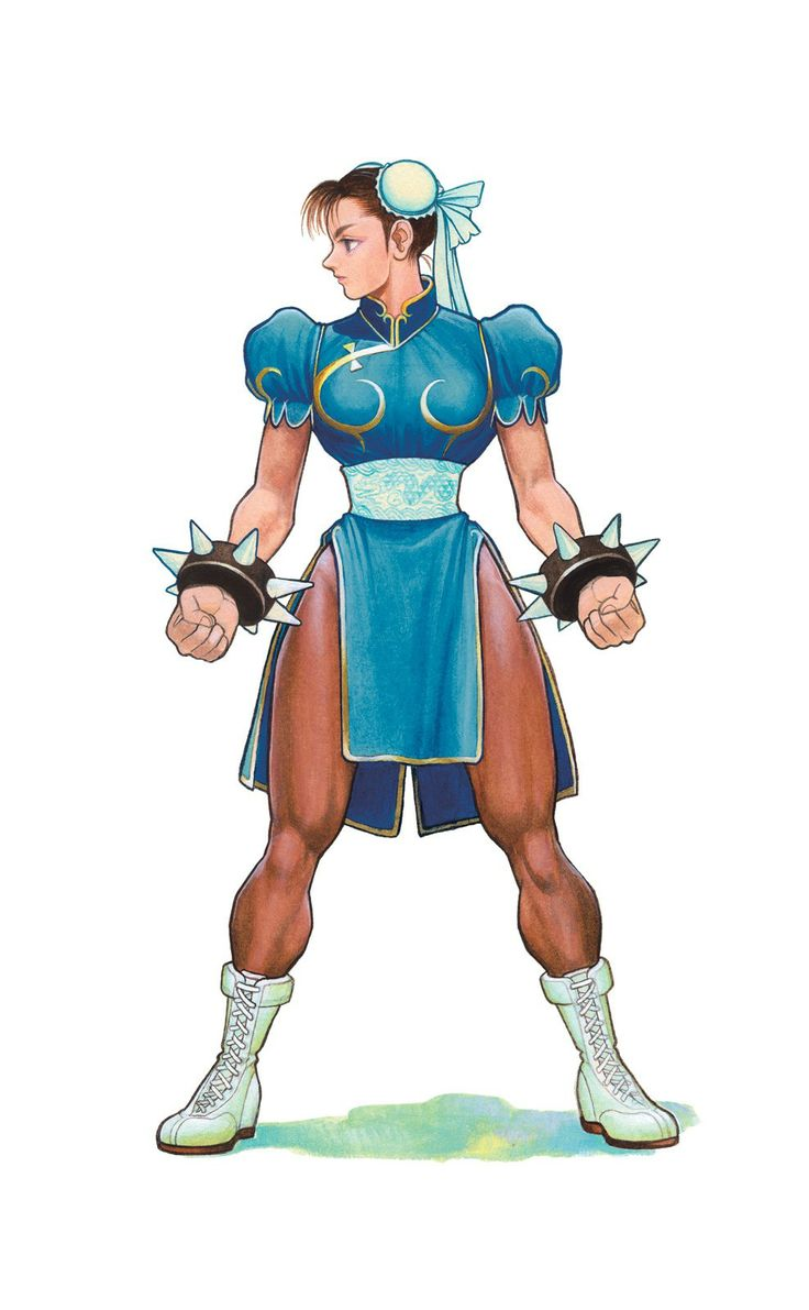 Chunli street fighter ii limitededition of 40 signed