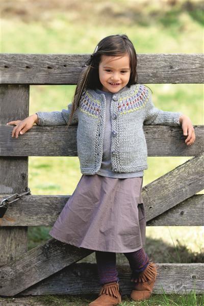 1512: Design 17 Jakke med rundfelling #strikk #knit