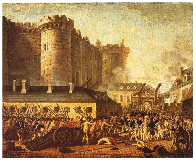 fall of the bastille july 14 1789