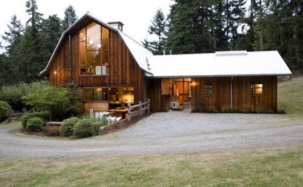 Barns that were made into homes