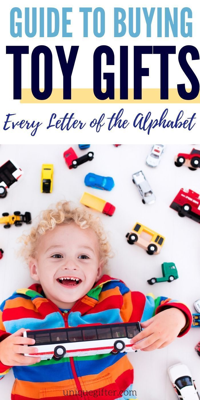 Toys That Start With Every Letter Of The Alphabet Unique Gifter In 2020 Kids Holiday Gifts Educational Toys For Preschoolers Preschool Gifts