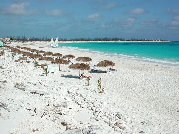 White sand beach #resort in Sol, Cayo Largo, Cayo Largo del Sur #Cuba