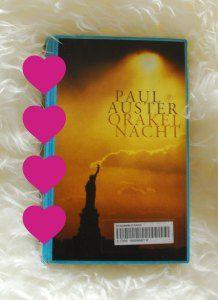 Boek 43/53 #boekperweek | Orakelnacht | Paul Auster | Prachtige raamvertelling over een mysterieus blauw notitieblok | Review op Bladzijde26