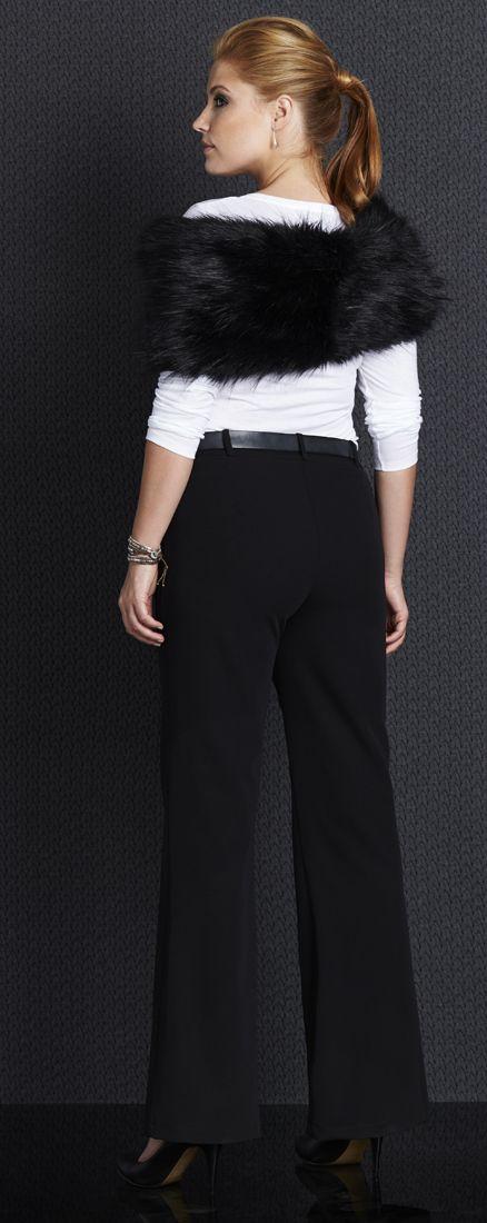 BELLE BIRD - Suit Pants | #bellebird #curvy #work