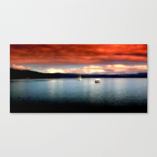 Karma on the Lake Canvas Print