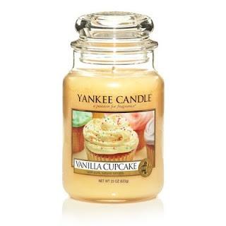 Love Yankee Candle Vanilla Cupcake