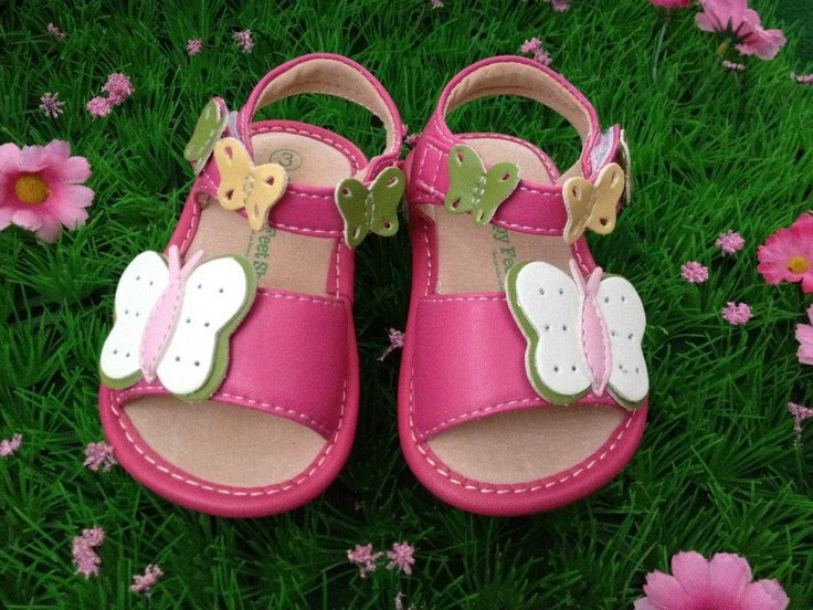 You and Baby - Summertime Butterflies sandals, $35.00 (http://www.youandbaby.com.au/summertime-butterflies-sandals/)