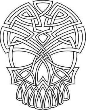 Celtic Skull_image