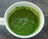 Rezept Gerrys Mojo verde (grüne Soße) ideal als Beilage zum Grillen von Gerry kocht - Rezept der Kategorie Saucen/Dips/Brotaufstriche