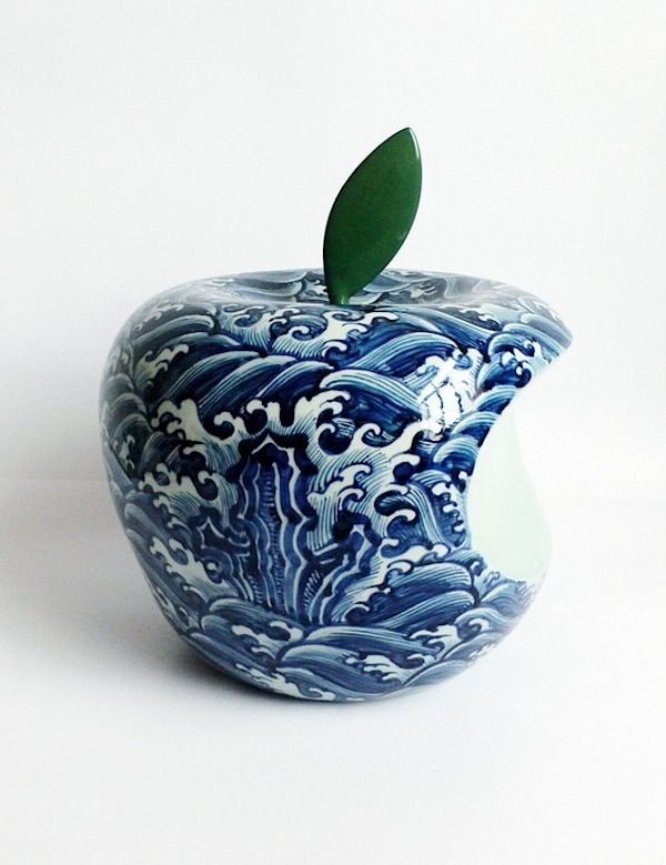 Corporate Logos as traditional Chinese Ceramics by #LiLihong