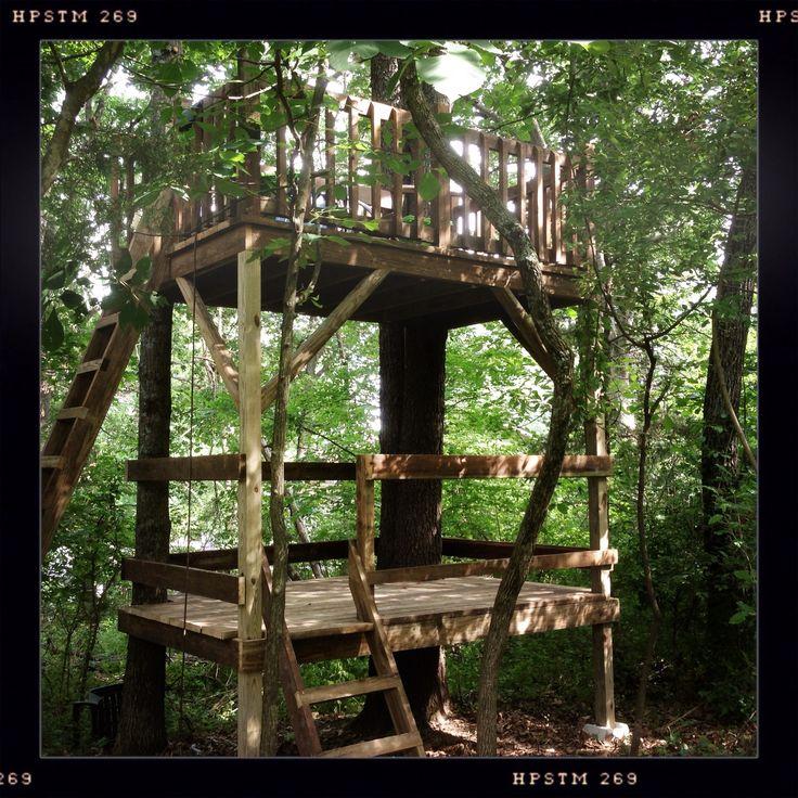 The 25 best simple tree house ideas on pinterest diy for Simple tree fort ideas