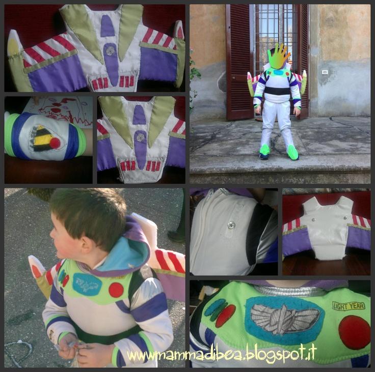 mamma di b.e.a.: Costume di Buzz Light Year diy