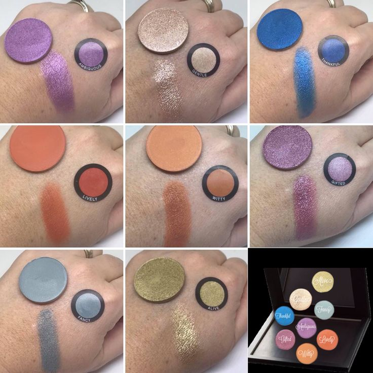 Launching March 1, NEW shades of Pressed Powder Shadows... Swatches of new shades #younique #pressedpowdershadow #eyeshadow #moodstruckpressedpowdershadows #gentlepressedpowdershadow #ambiguouspressedpowdershadow #fancypressedpowdershadow #wittypressedpowdershadow #thankfulpressedpowdershadow #livelypressedpowdershadow #alivepressedpiwdershadow #giftedpressedpowdershadow #witty #lively #gentle #alive #thankful #fancy #gifted #ambiguous