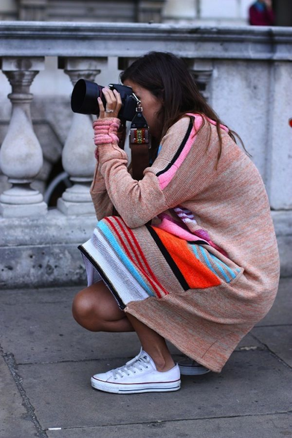 Daily Crush: CRUSH OF THE DAY:DRESSES WITH SNEAKS