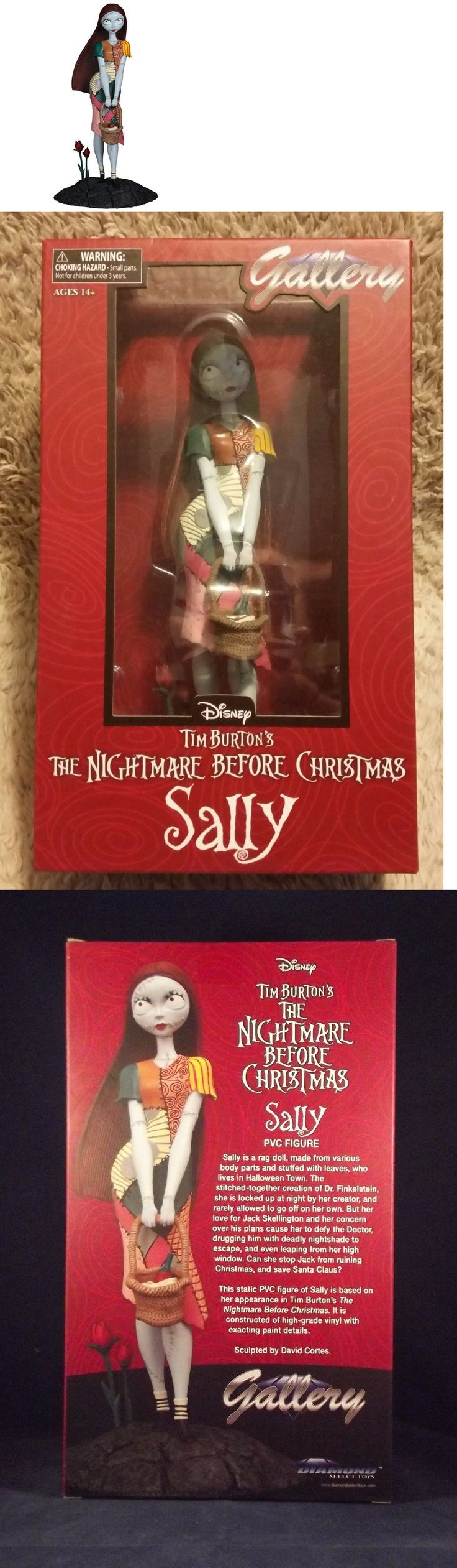 Fantasy 175693: Femme Fatales ~ The Nightmare Before Christmas ~ Sally ~ 9.5 Pvc Statue By Dst -> BUY IT NOW ONLY: $64.99 on eBay!
