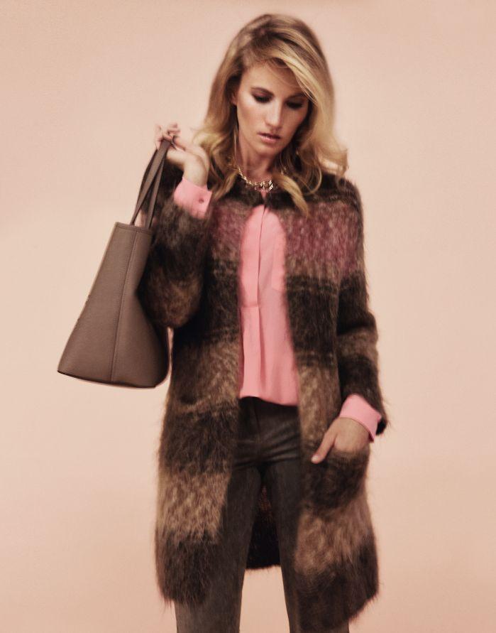#Mantel und #Bluse von #LuisaCerano