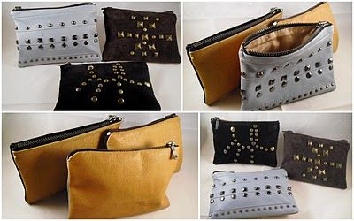 Purses made from gloves