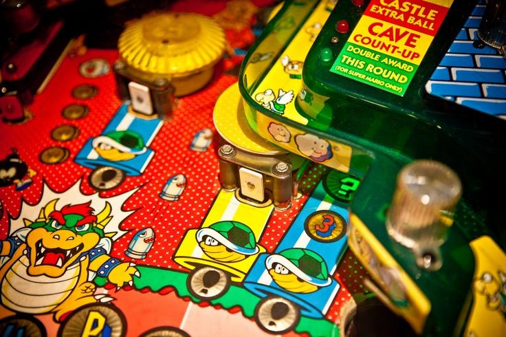 Super Mario Bros. Flipper (Pinball)  Image by Pfer