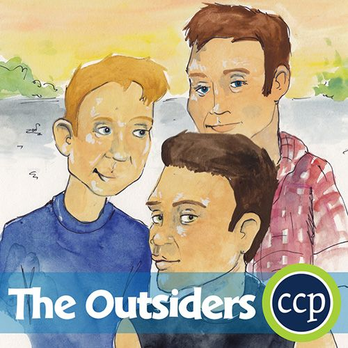 A Literature Kit for the novel The Outsiders written by S.E. Hinton.
