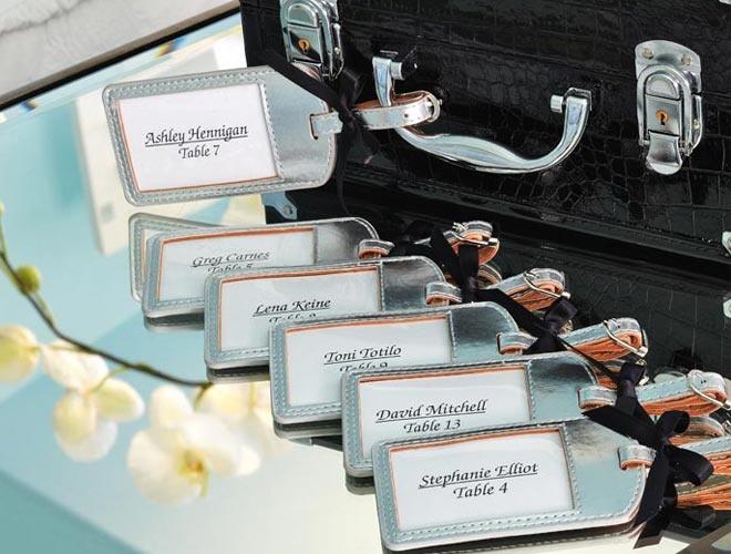 97 best Luggage Tag Wedding Favors images on Pinterest | Wedding ...