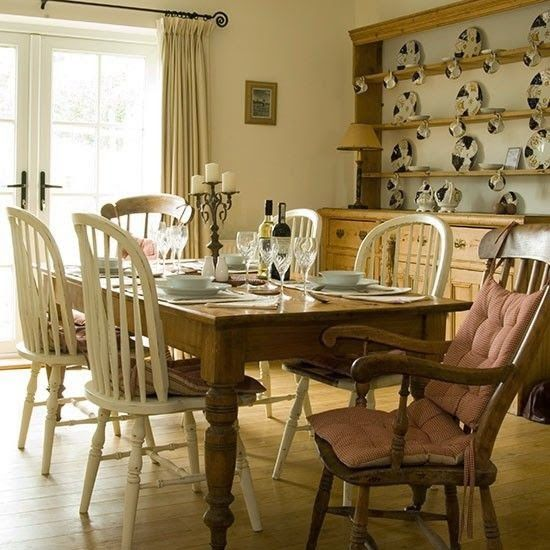 Cosy English Dining Room