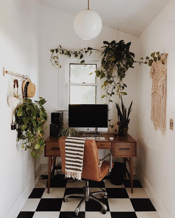 "348 Likes, 5 Comments - Capra Designs (@capradesigns) on Instagram: ""Workspace inspo! Did you know there are health benefits to having indoor plants? // image by…"""