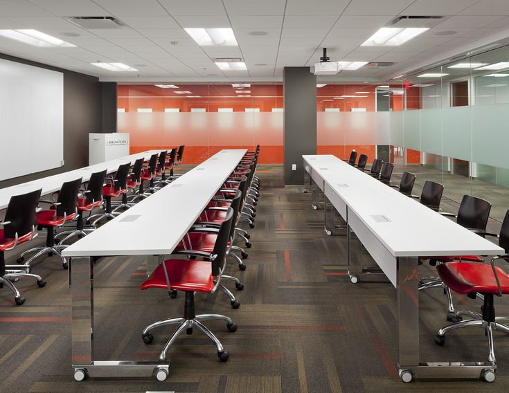 State Of The Art Training Center Design By Mercedes Farrando Beacon Office Pinterest Color