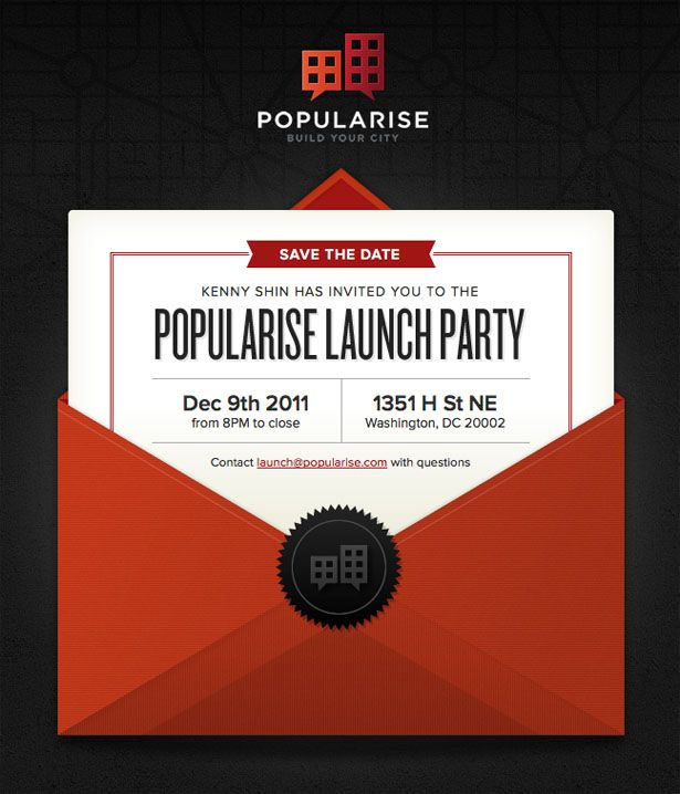 25+ best Email invites ideas on Pinterest | Hollywood invitations ...
