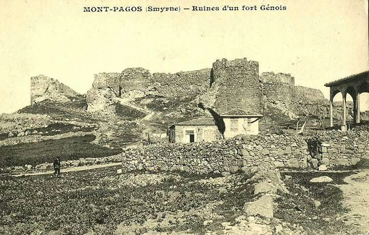 Kadifekale, İzmir / Mont Pagos, Smyrne.