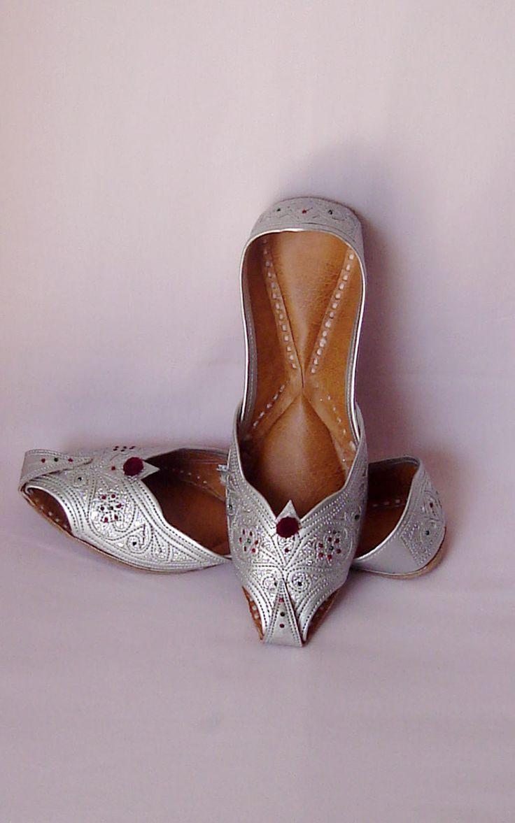 Designer Indian Punjabi Jutti - Ladies Shoes