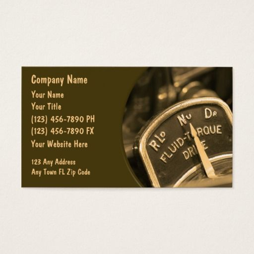 163 best automotive business cards images on pinterest lyrics automotive business cards retro reheart Images