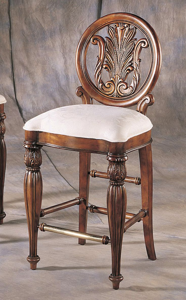 Accents Edwardian Bar Stool In Cherry