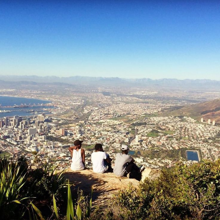 Relaxing at the top of Lion's Head just one of the astonishing mountains that you can find in Cape Town. Totally worth the hike! Photo: Emilie Légère  #LionsHead #CapeTown #breathtaking #naturalbeauty #greatoutdoors #ilovecapetown #SouthAfrica #viewpoint