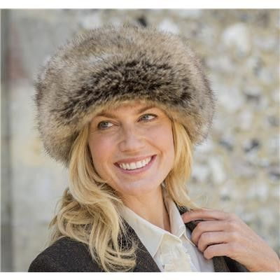 stocking fillers faux fur hat