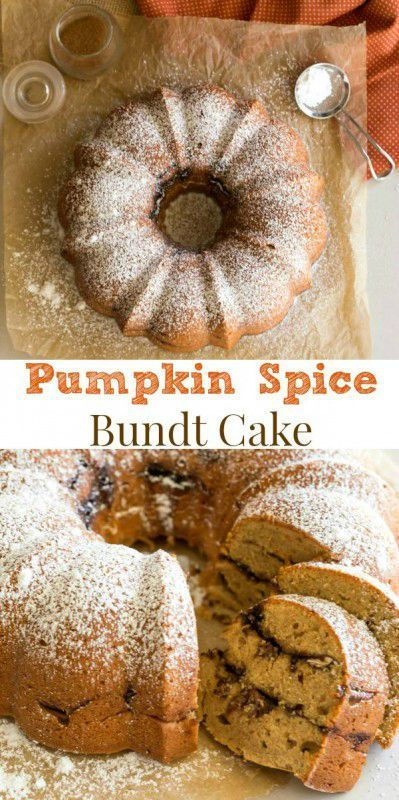 Satisfy your pumpkin craving with this rich bundt cake recipe that's great for breakfast or dessert!