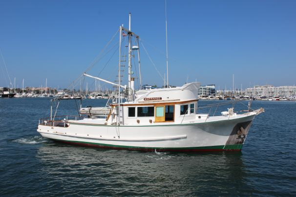 1959 Defever Lindwall Trawler for sale in Marina del Rey, CA. #BoatsForSale #Trawlers