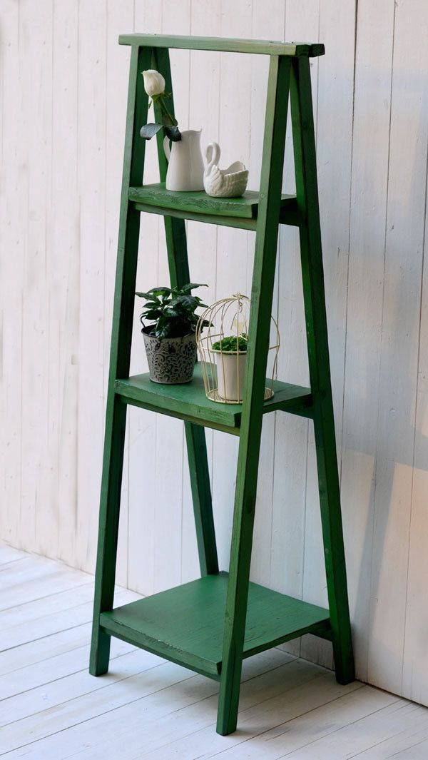 74 Made Antique The Three Flower Stand Shelves Indoor