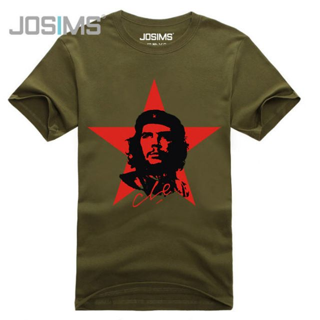 Special offer Original Che Guevara T Shirt Men Brand Famous Short Sleeved T-Shirt Red Star Printed Fitness Cotton Swag Tee Shirts A877 just only $13.79 with free shipping worldwide  #tshirtsformen Plese click on picture to see our special price for you