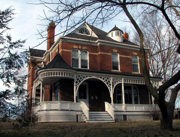 The house where Kurt Vonnegut wroteSlaughterhouse Five, Iowa City, Iowa